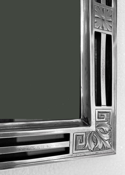 Large American Jugendstil Deco Sterling Frame, William Kerr, circa 1900