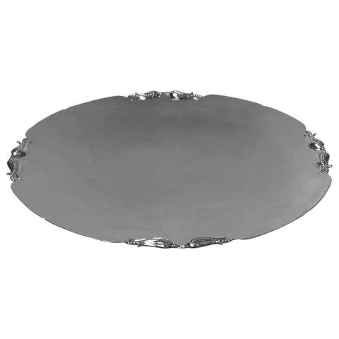 Carl Poul Petersen Sterling Silver Tazza Dish Montreal, circa 1940