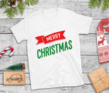 Christmas T-Shirts | Merry Christmas Banner Design-T-Shirt-The Gift Creators LTD