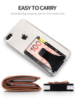 Load image into Gallery viewer, Metal Mini Money Clip Card Holder (Carbon Fiber)