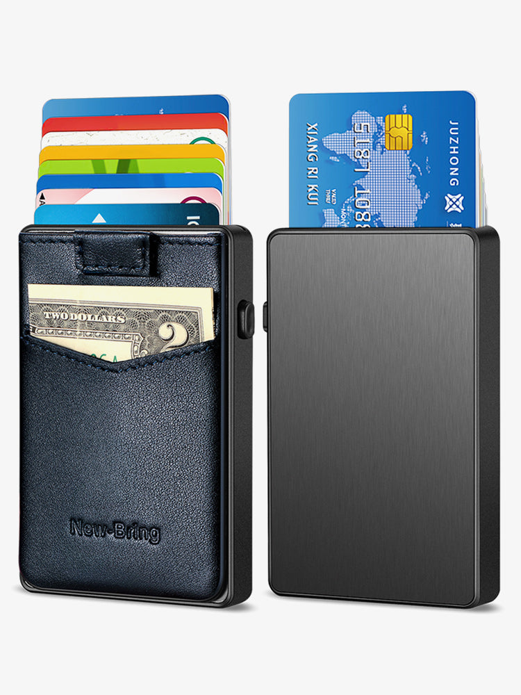 Pop up Bank Card Case (Blue)