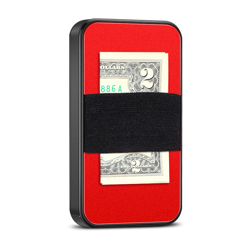 NewBring Slide Open Credit Card Holder Wallet (black)
