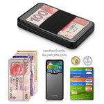 Load image into Gallery viewer, RFID Blocking Credit Card Holder with Money Clip (Red)