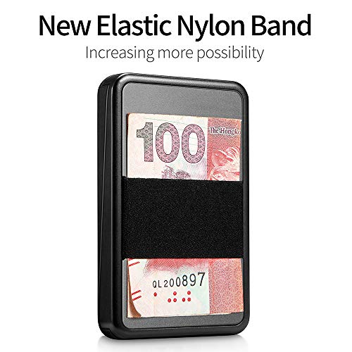 RFID Blocking Credit Card Holder with Money Clip (Red)