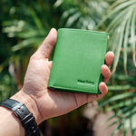 Load image into Gallery viewer, Men's Genuine Leather Travel Wallet (Green)