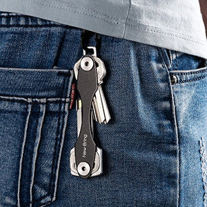 Smart Key&Keychain Organizer (Red)