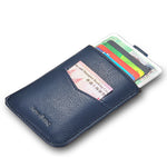 Load image into Gallery viewer, Minimalist Front Pocket Wallet (Blue)