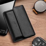 Load image into Gallery viewer, New-Bring Leather Front Pocket Card Case (Black)