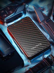 RFID Blocking Credit Card Holder with Money Clip (Carbon Fiber)