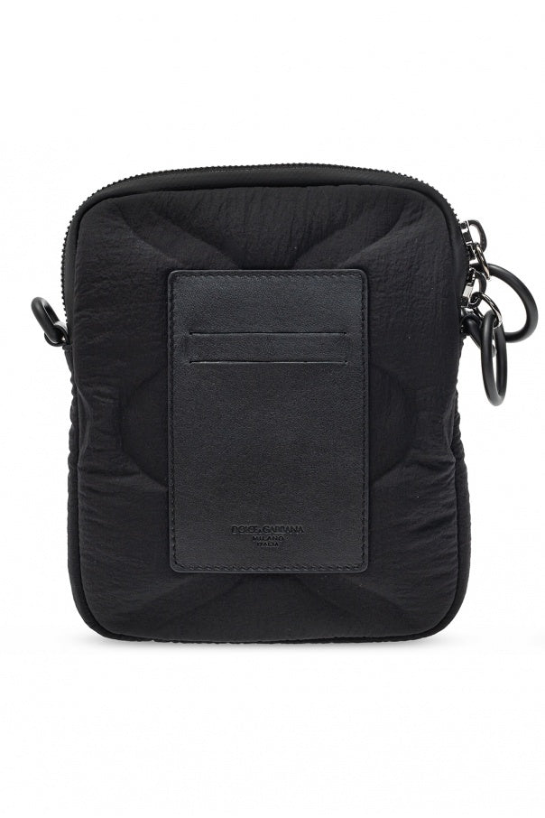 Black DG Logo Cross Body Bag
