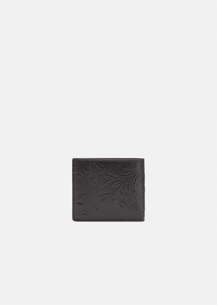 Embossed Barocco Bifold Wallet