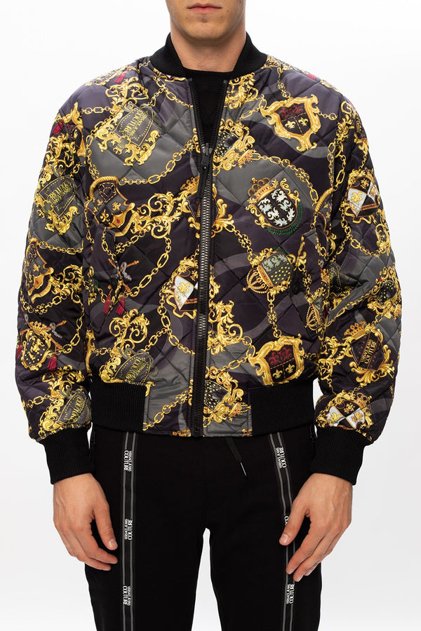 Black and Gold Reversible Jacket