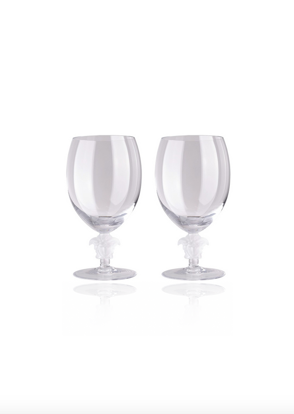 Medusa Lumiere Red Wine Glasses - Set of Two