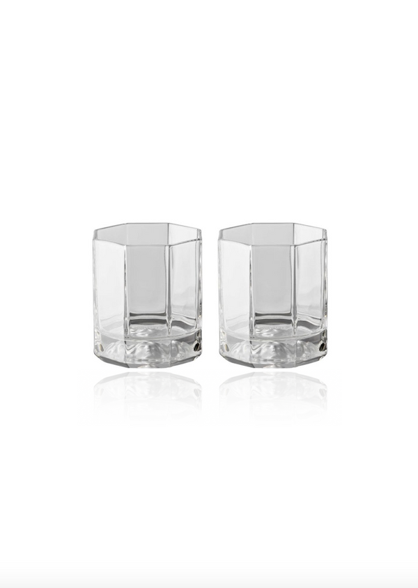 Medusa Lumiere Whiskey Glasses - Set of Two