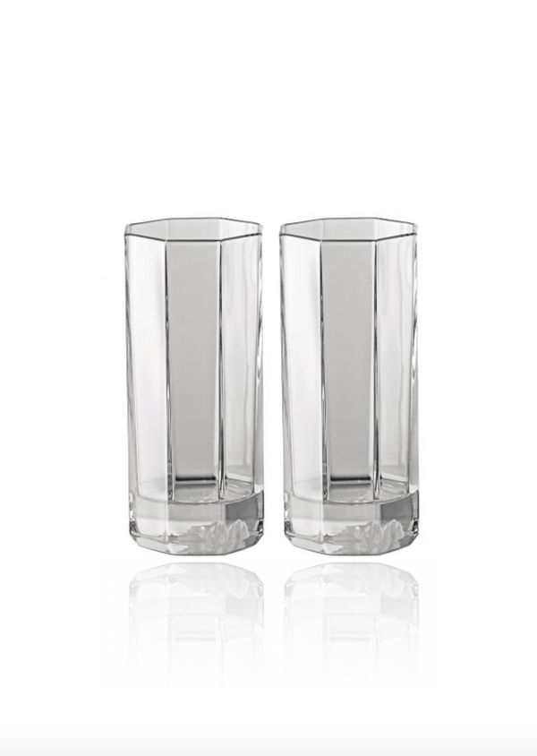 Medusa Lumiere Long Glasses - Set of Two