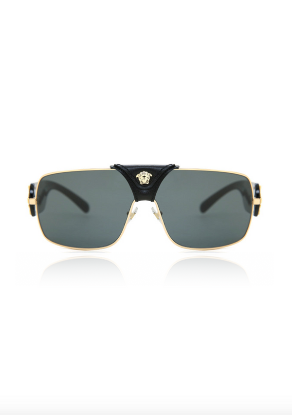 Medusa Leather Sunglass