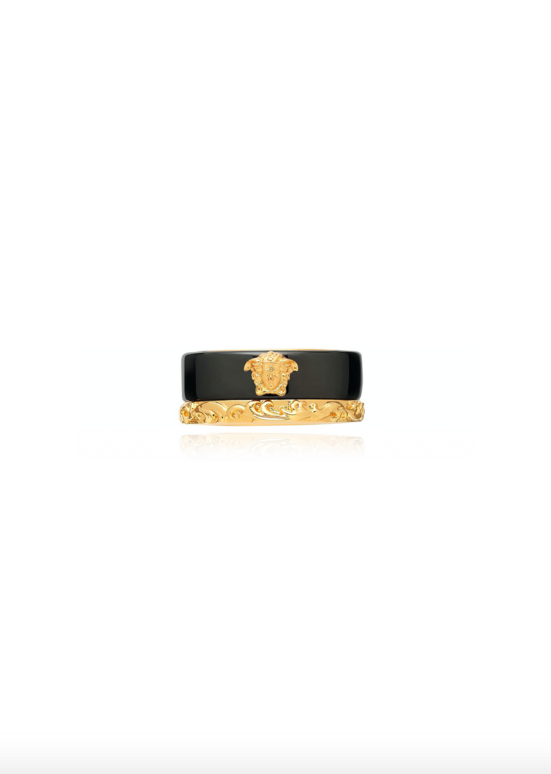 Medusa Barocco Two Tone Ring