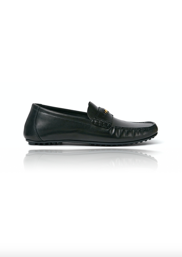 Leather Loafers in Black