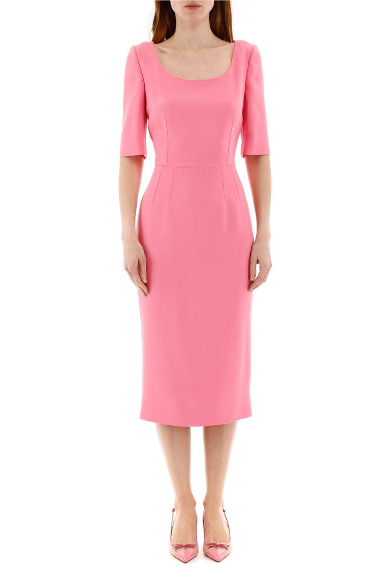 Pink Long Sleeve Dress