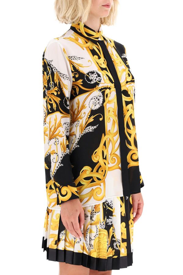 Baroque Silk in Black and Gold