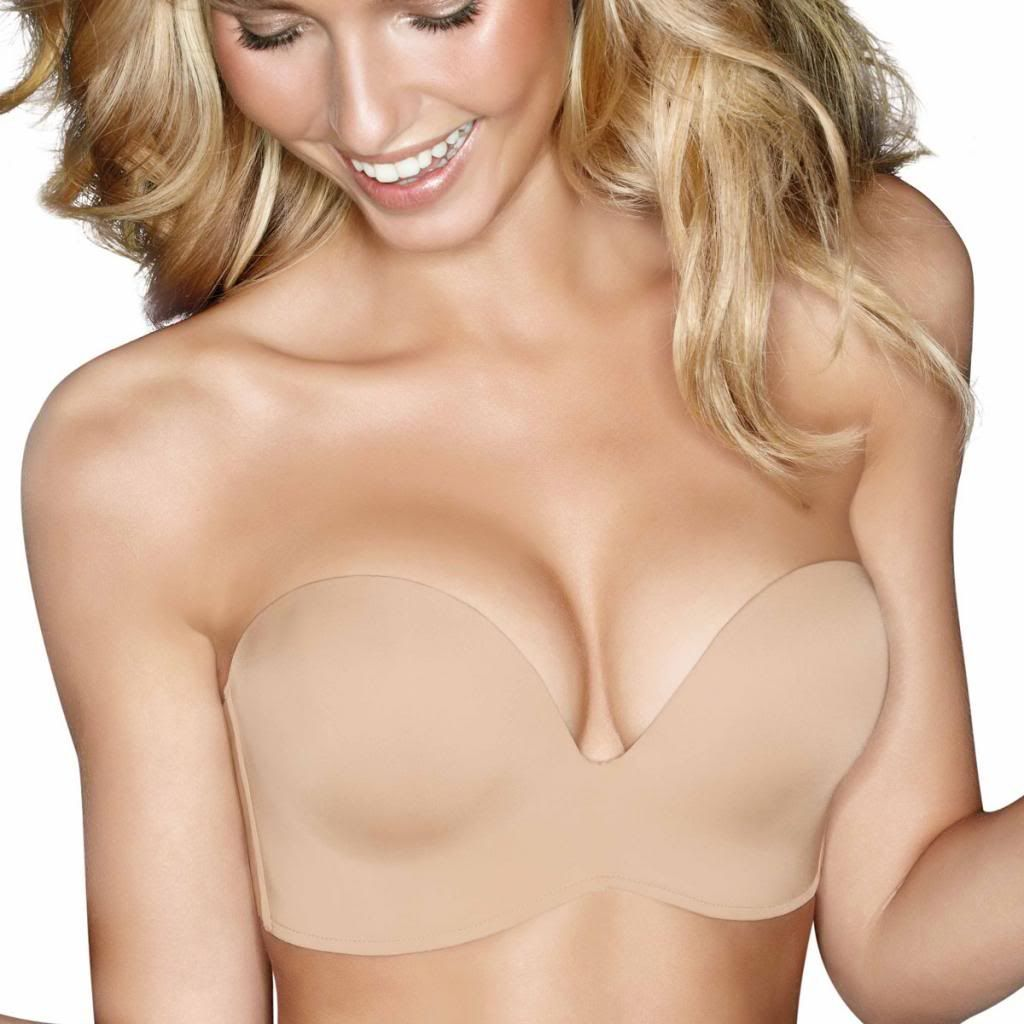 Wonderbra Ultimate Strapless Bra, Nude