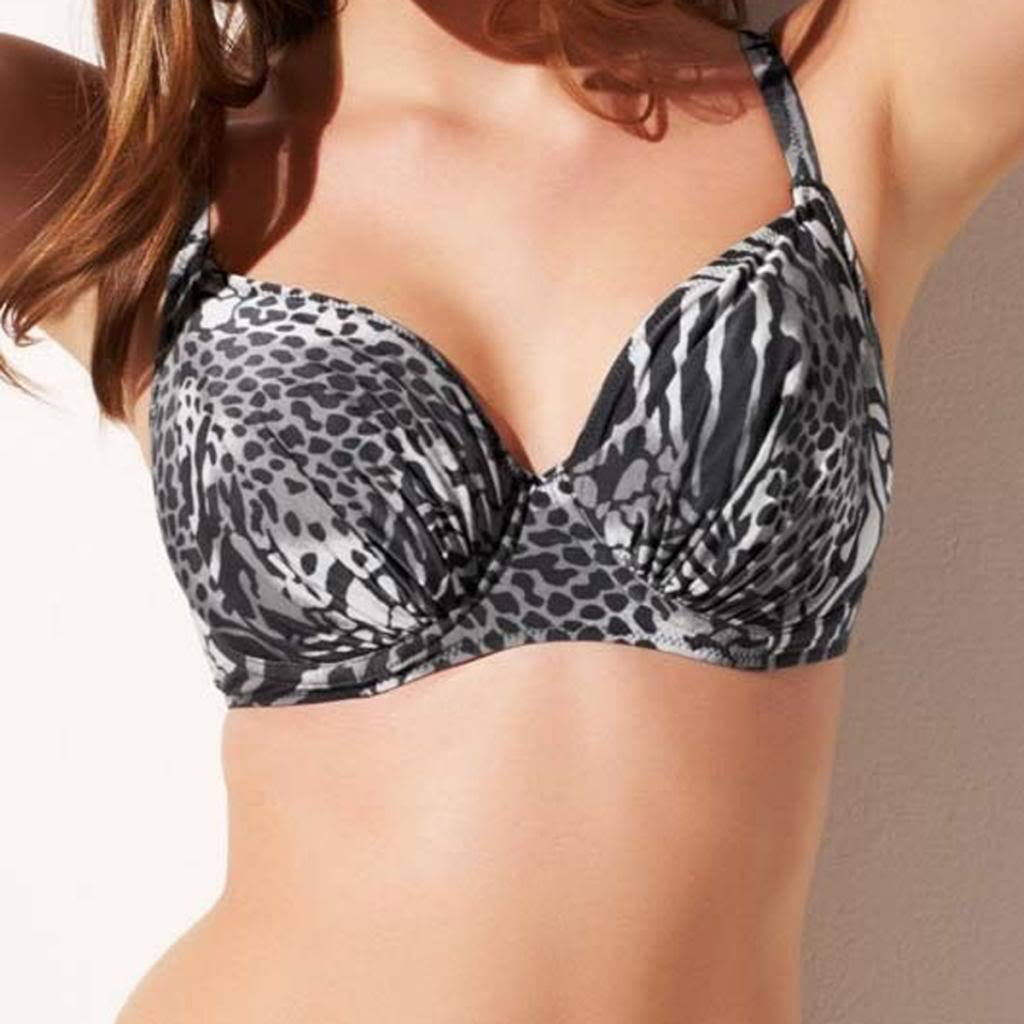 Fantasie Nairobi Underwired Full Cup Bikini Top, Black