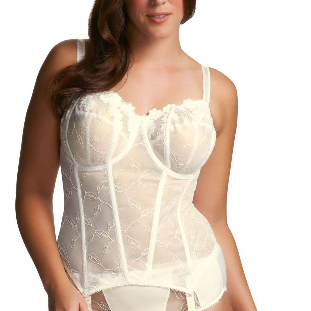 Elomi Occasions Underwire Basque, Ivory