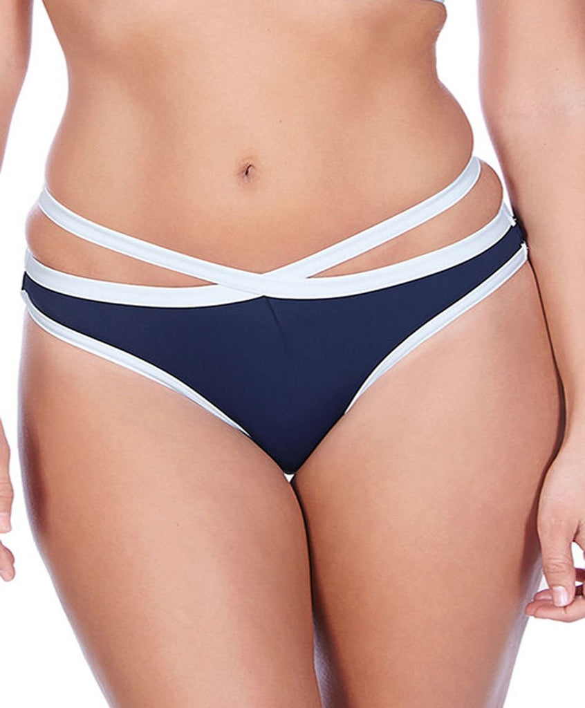 Freya In The Navy Marine Deco Italini Brief, Marine Navy