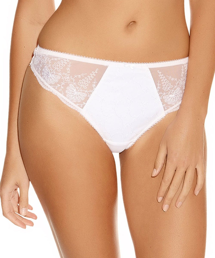 Fantasie Elodie Thong, White