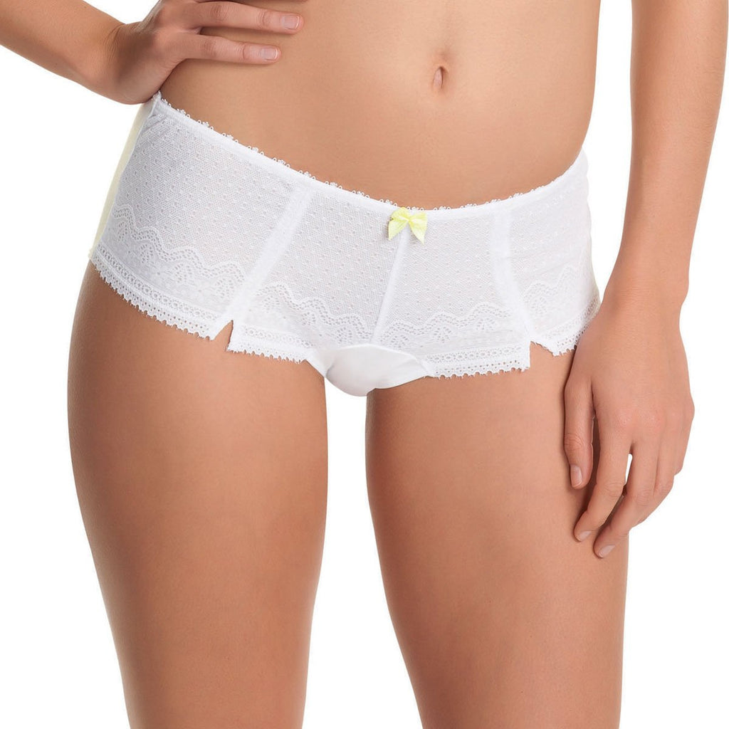 Freya Gem Short, White