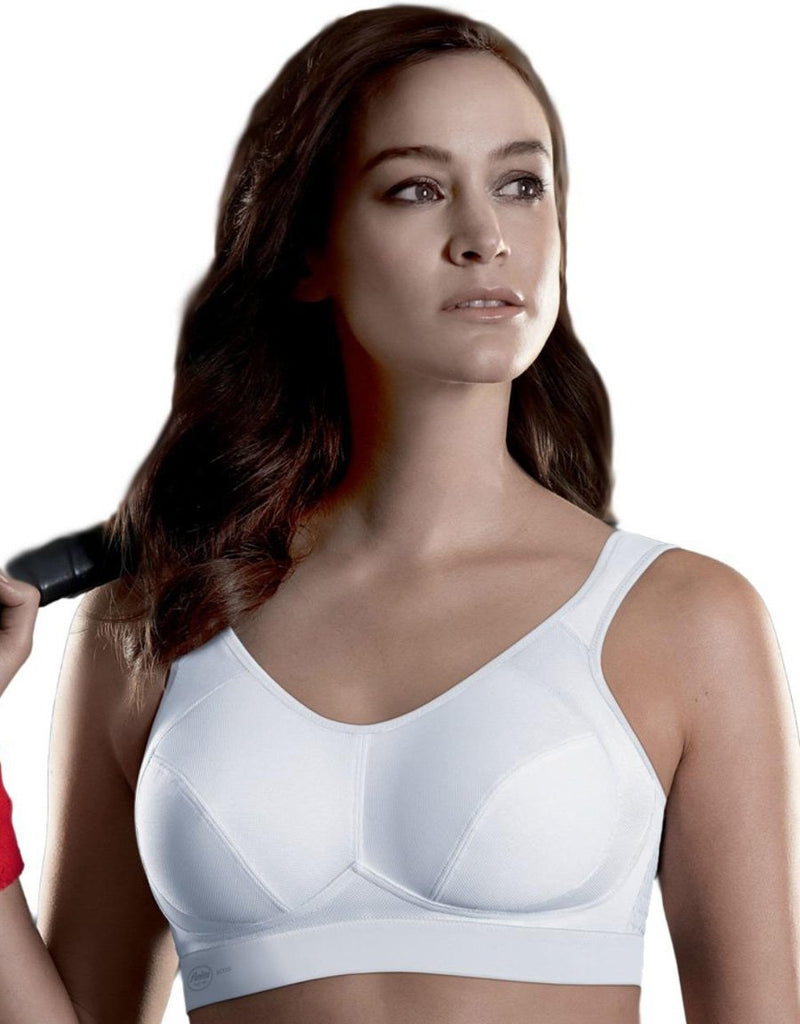 Anita Maximum Support and Extreme control wirefree Sports Bra, White