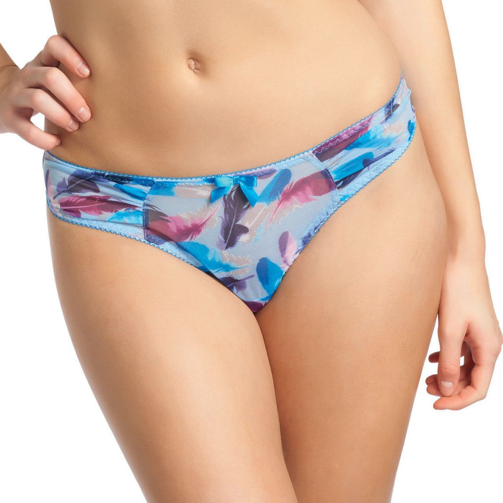 Freya Ruffle My Feathers Thong, Bluebell