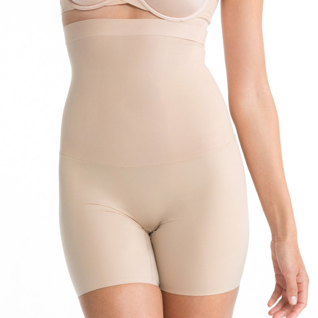 Spanx Shape My Day High Waist Mid Thigh, Natural