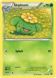Skiploom (4) [XY - Steam Siege] - Poke-Collect