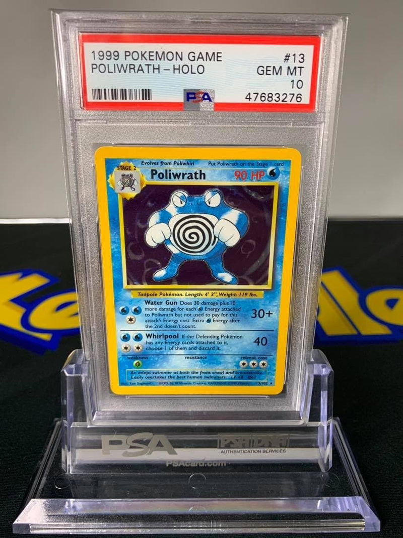 Poliwrath Holo Rare Base Set