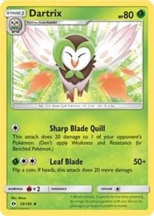 Dartrix (10) [SM Base Set] - Poke-Collect