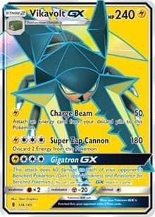 Vikavolt GX (Full Art) (134) [SM - Guardians Rising] - Poke-Collect