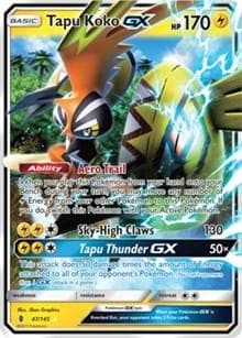 Tapu Koko GX (47) [SM - Guardians Rising] - Poke-Collect