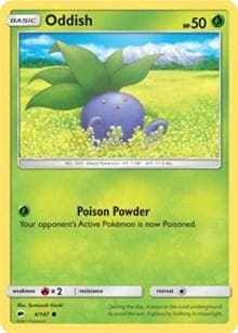 Oddish (4) [SM - Burning Shadows] - Poke-Collect