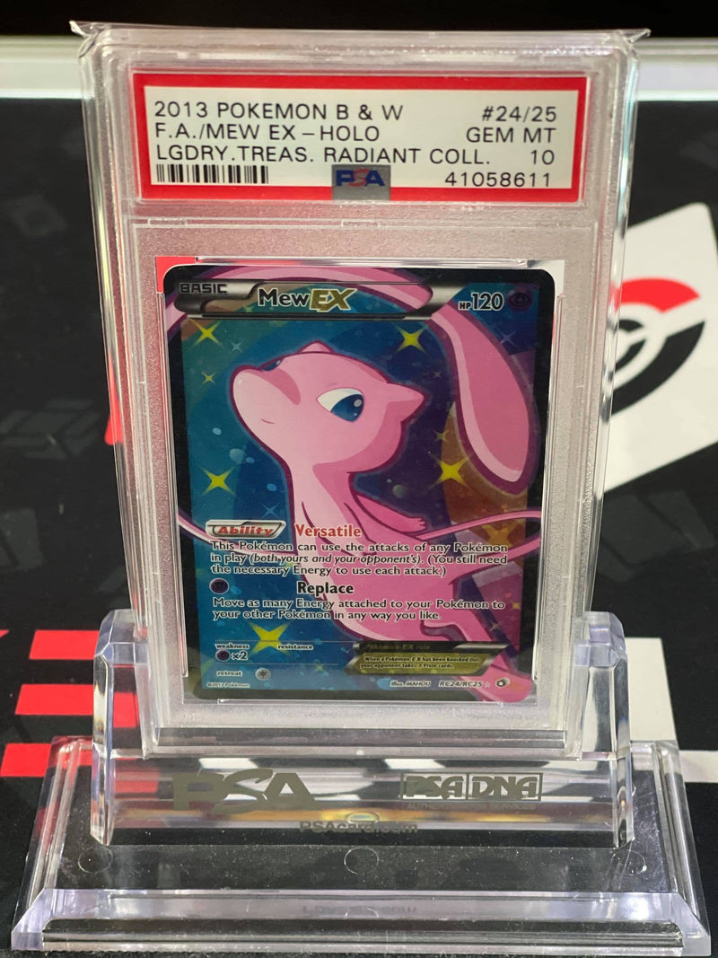Mew EX Full Art Legendary Treasures Radiant Collection