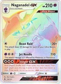 Naganadel GX (Secret) (134) [SM - Forbidden Light] - Poke-Collect