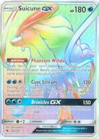 Suicune GX (Secret) (220) [SM - Lost Thunder] - Poke-Collect