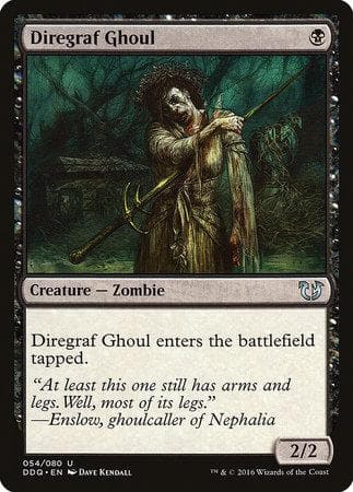 Diregraf Ghoul [Duel Decks: Blessed vs. Cursed] - Poke-Collect