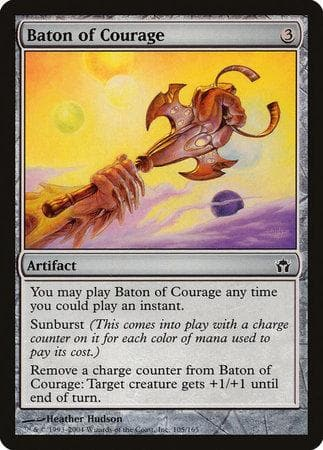 Baton of Courage [Fifth Dawn] - Poke-Collect
