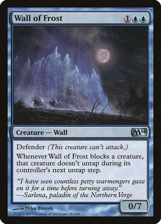 Wall of Frost [Magic 2014] - Poke-Collect