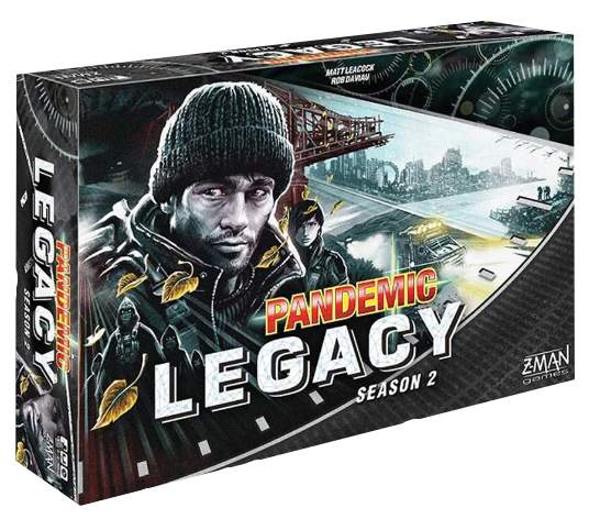 Pandemic - Legacy 2 (Black Edition)