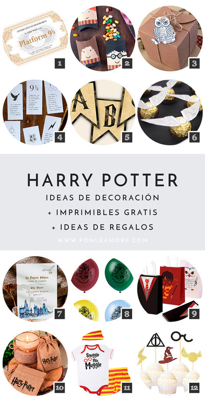 Decoración de Harry Potter: Ideas Mágicas para tus Fiestas