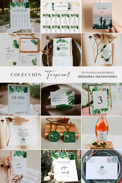 Pack de Boda Tropical - Ponle Amore
