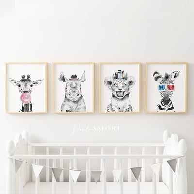 posters infantiles animales