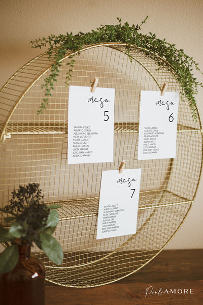 Seating Plan Esencial - Ponle Amore